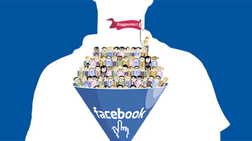 Facebook Suggerisci a tutti gli amici in 2 click