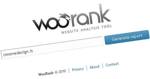 WooRank SEO tool per lanalisi del tuo sito