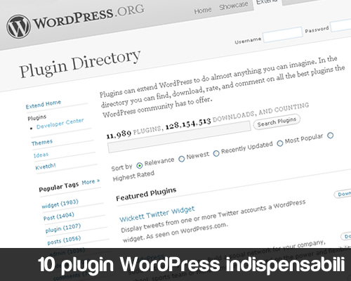 10 plugin WordPress indispensabili