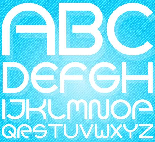 Font Design Goca Logotype caratteri
