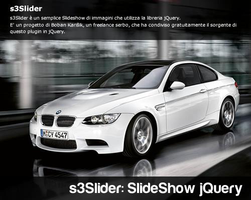 s3Slider un semplice Slideshow jQuery