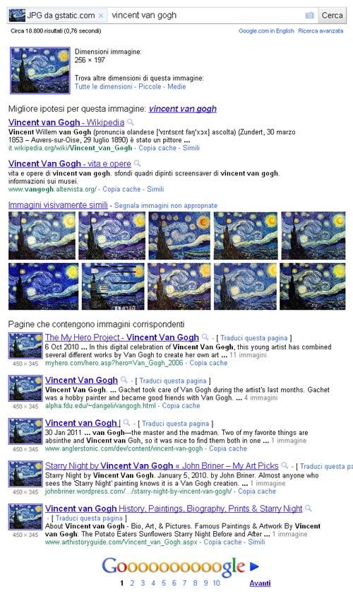 Google image search ricerche per immagini blog for Ricerca per immagini google