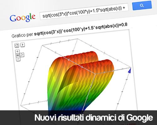 risultati dinamici google
