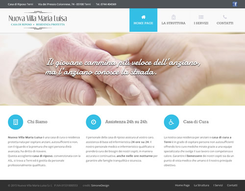 Nuova Villa Maria Luisa screenshot