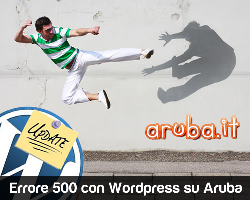 Errore 500 con WordPress su Aruba