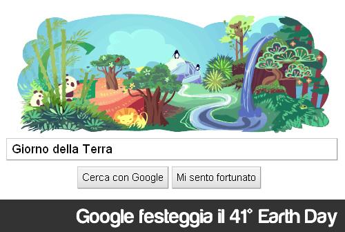 Google Doodle - Il Giorno della Terra 2011