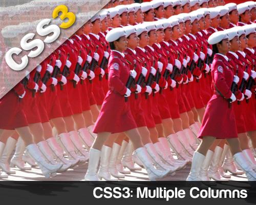 CSS3 Multiple Columns per incolonnare i contenuti
