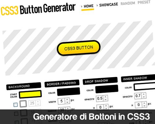 CSS3Botton - Generatore di Bottoni in CSS3
